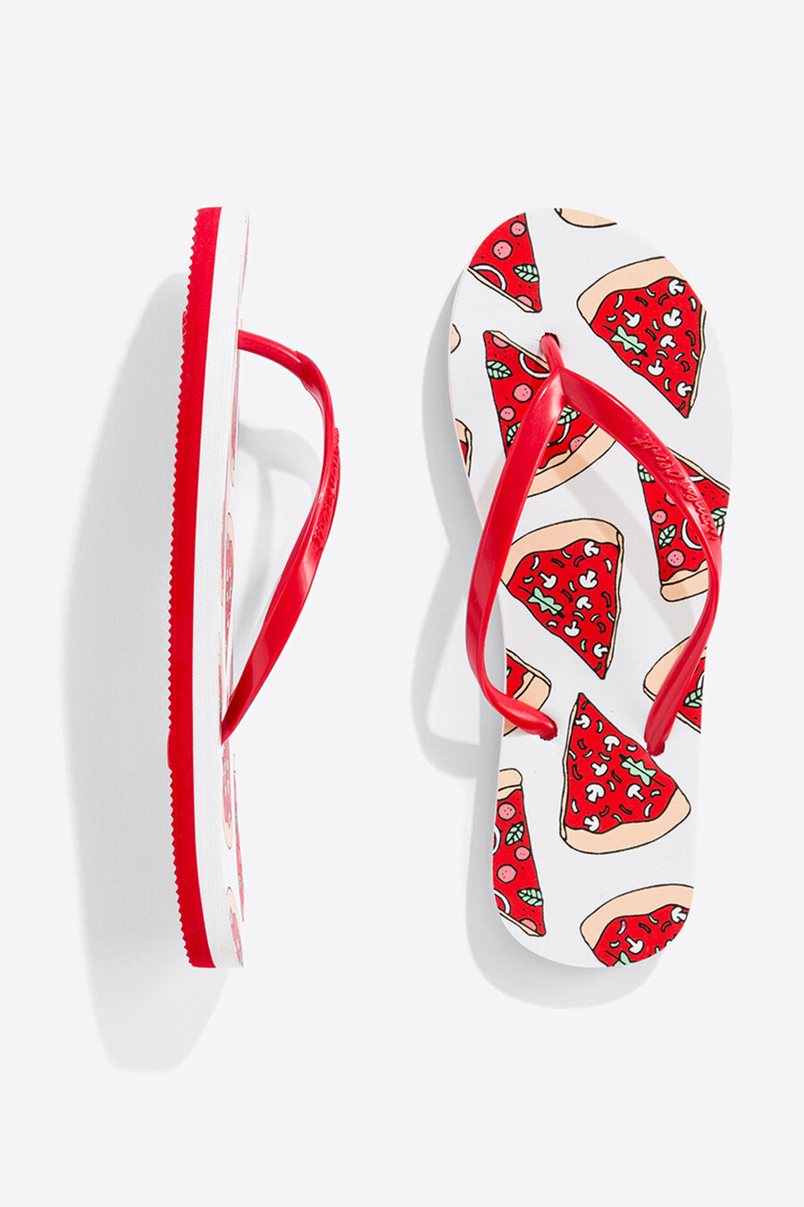 Pizza flip flops