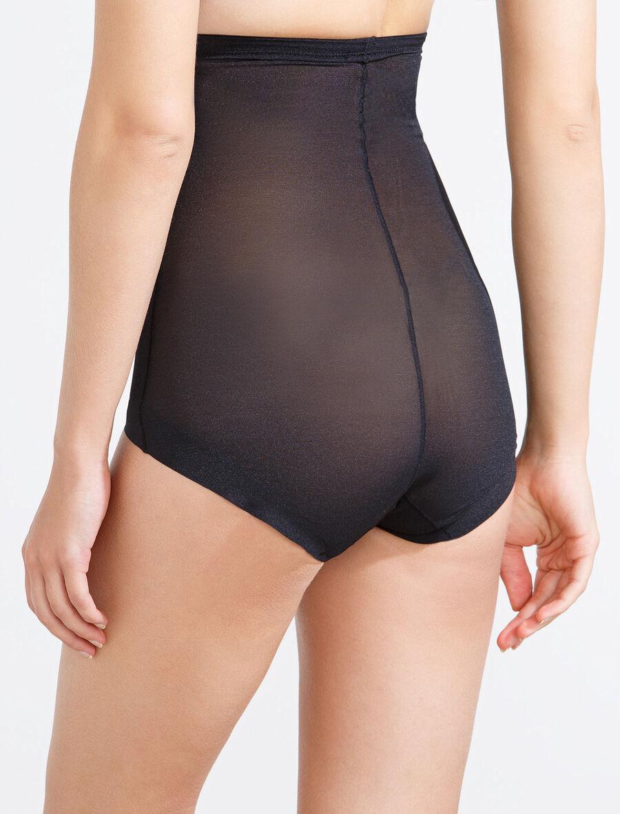 Shapewear tulle high-waist panty
