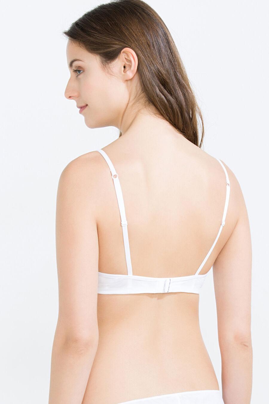 Underwire padded bra