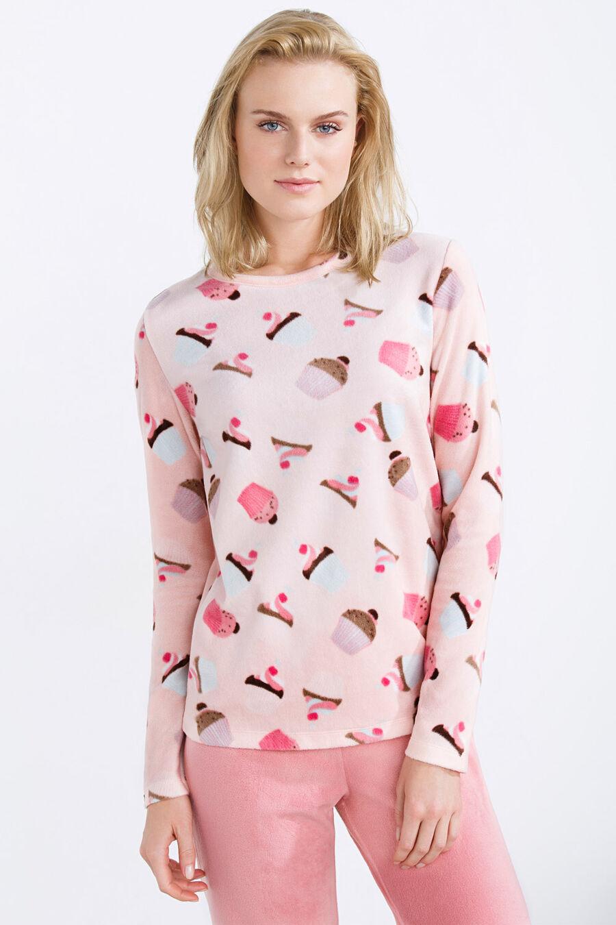 Long thermal Cupcake pyjama
