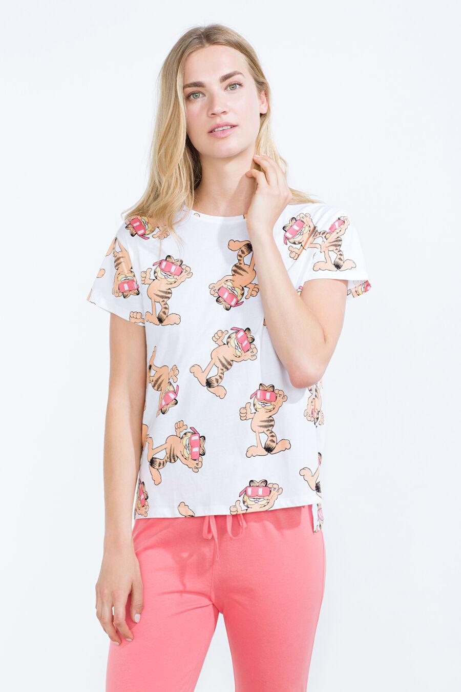Garfield print long pyjama