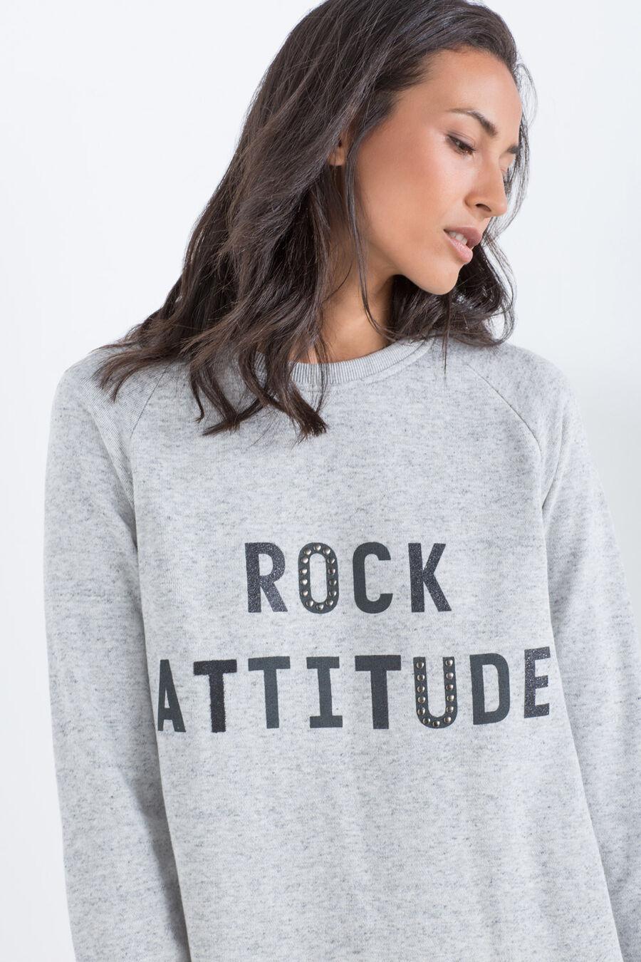 Rock attitude' sweatdress