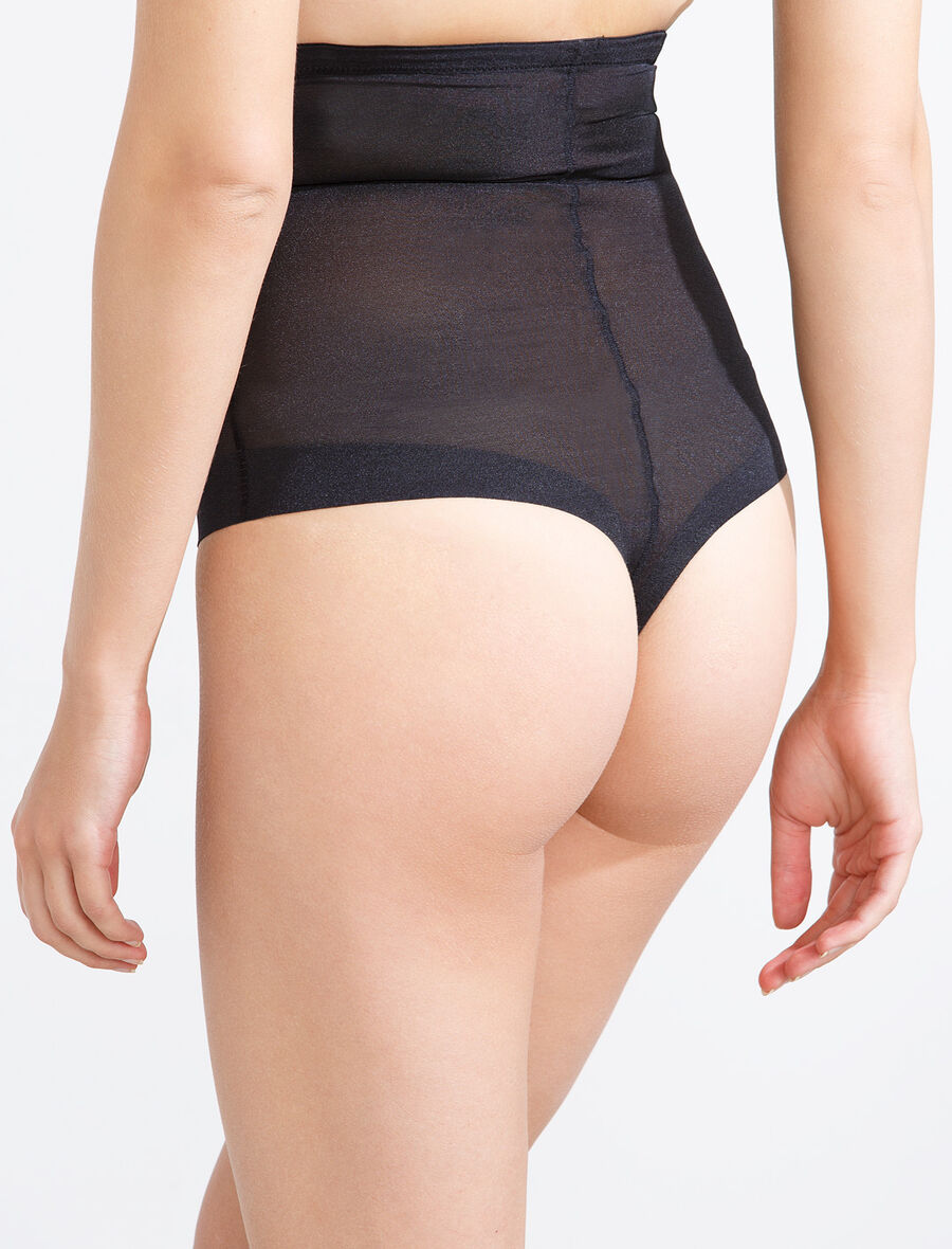 Mesh shapewear Brazilian brief