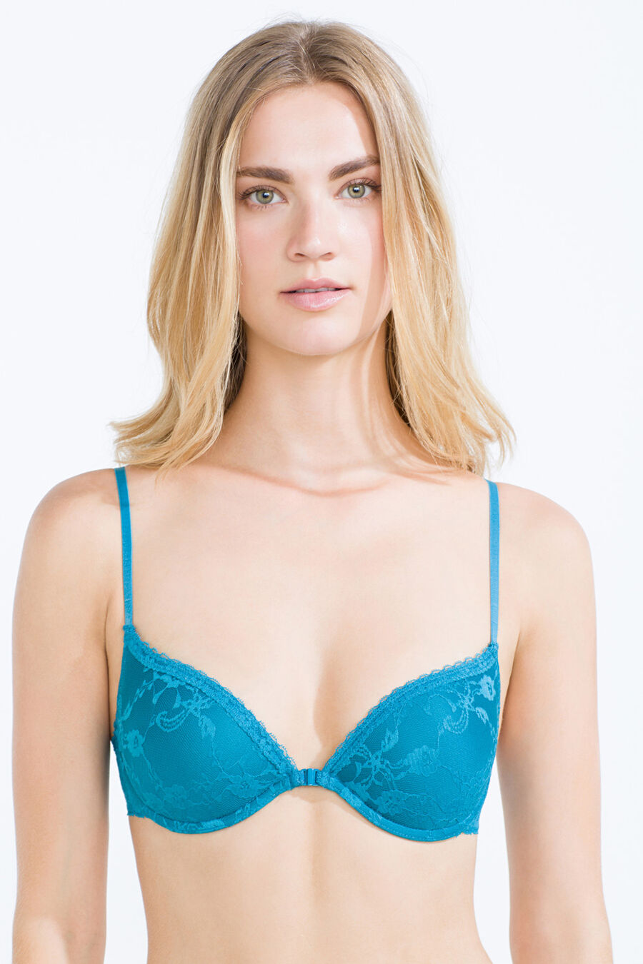Lace push up bra