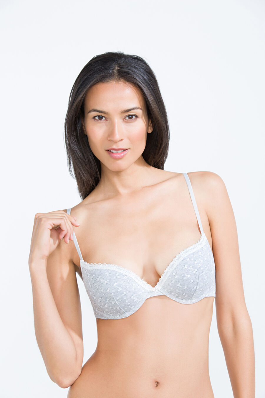 Cotton push up bra