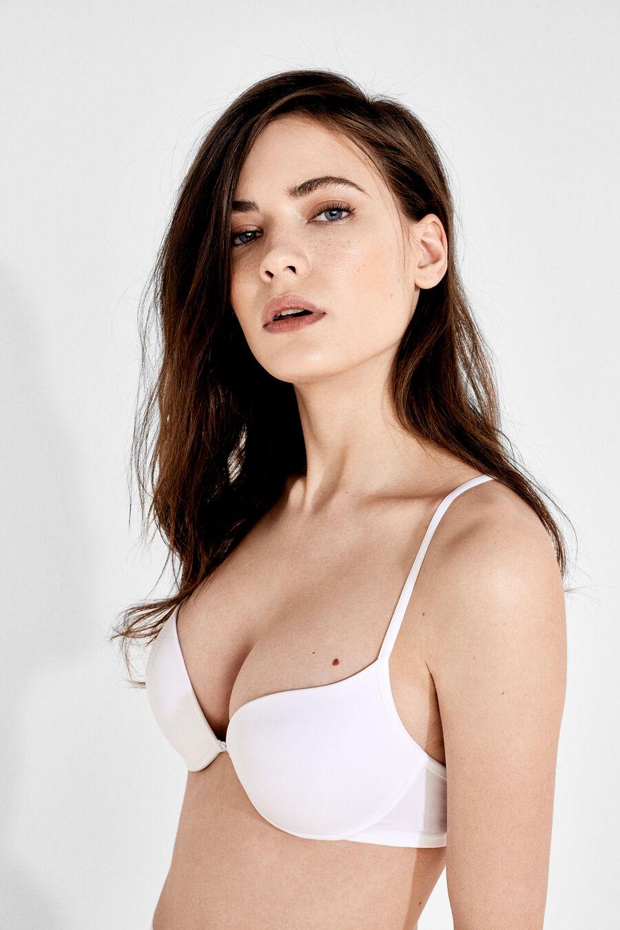 T-back push up bra