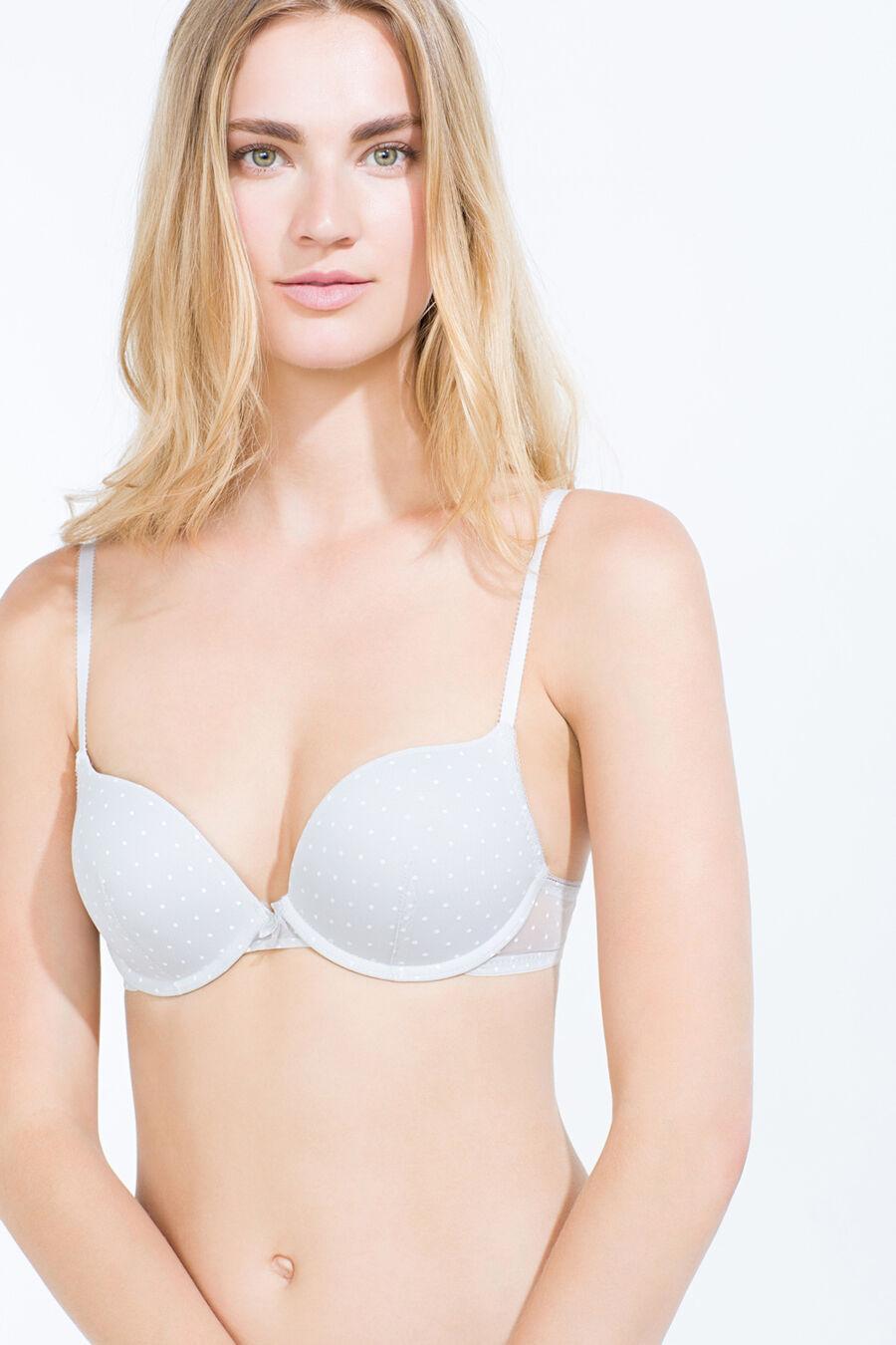 Mesh maxi push up bra