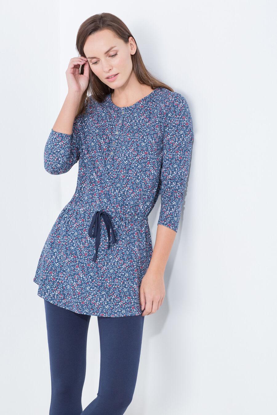 Flower print long pyjama