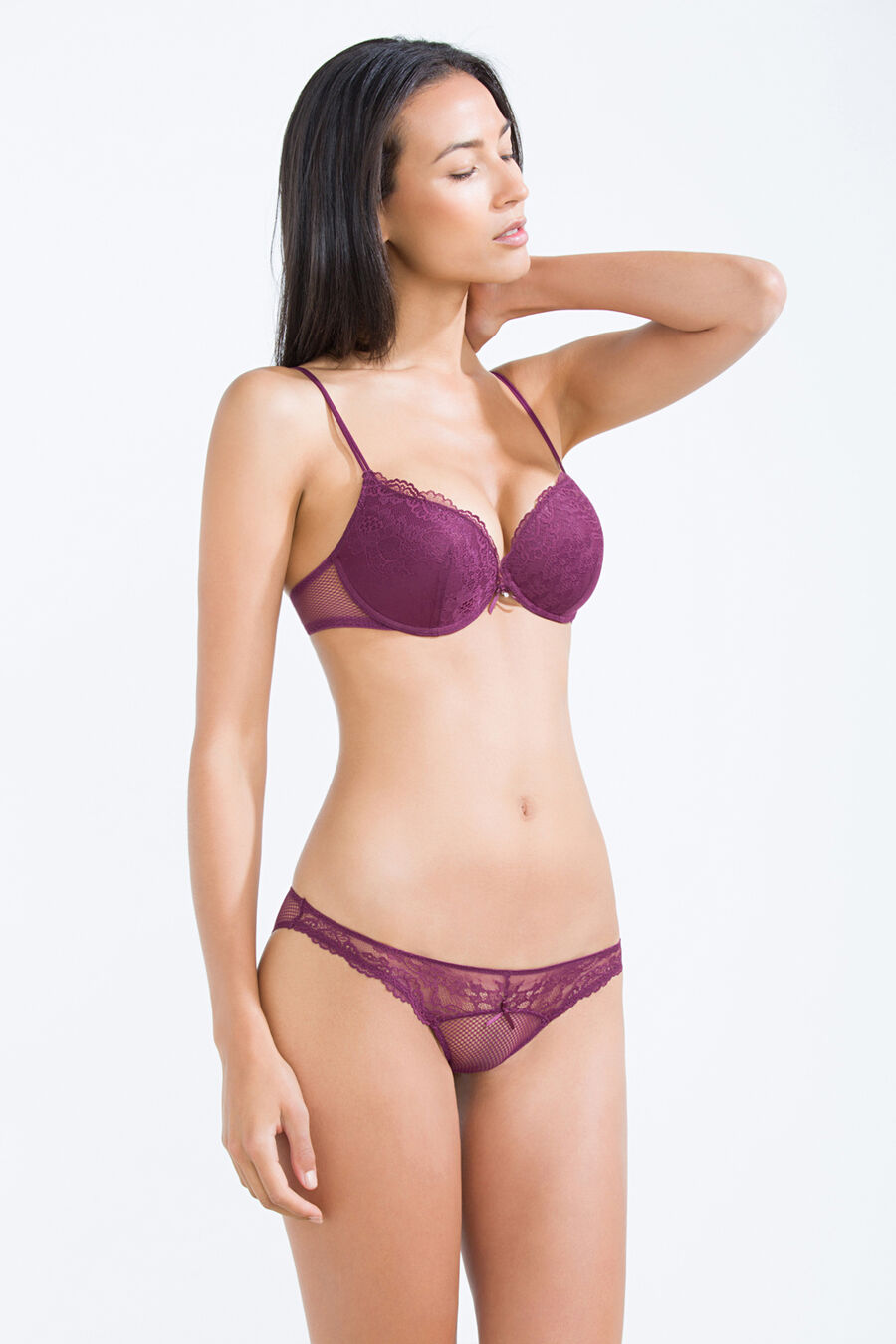 Lace and net special classic brief