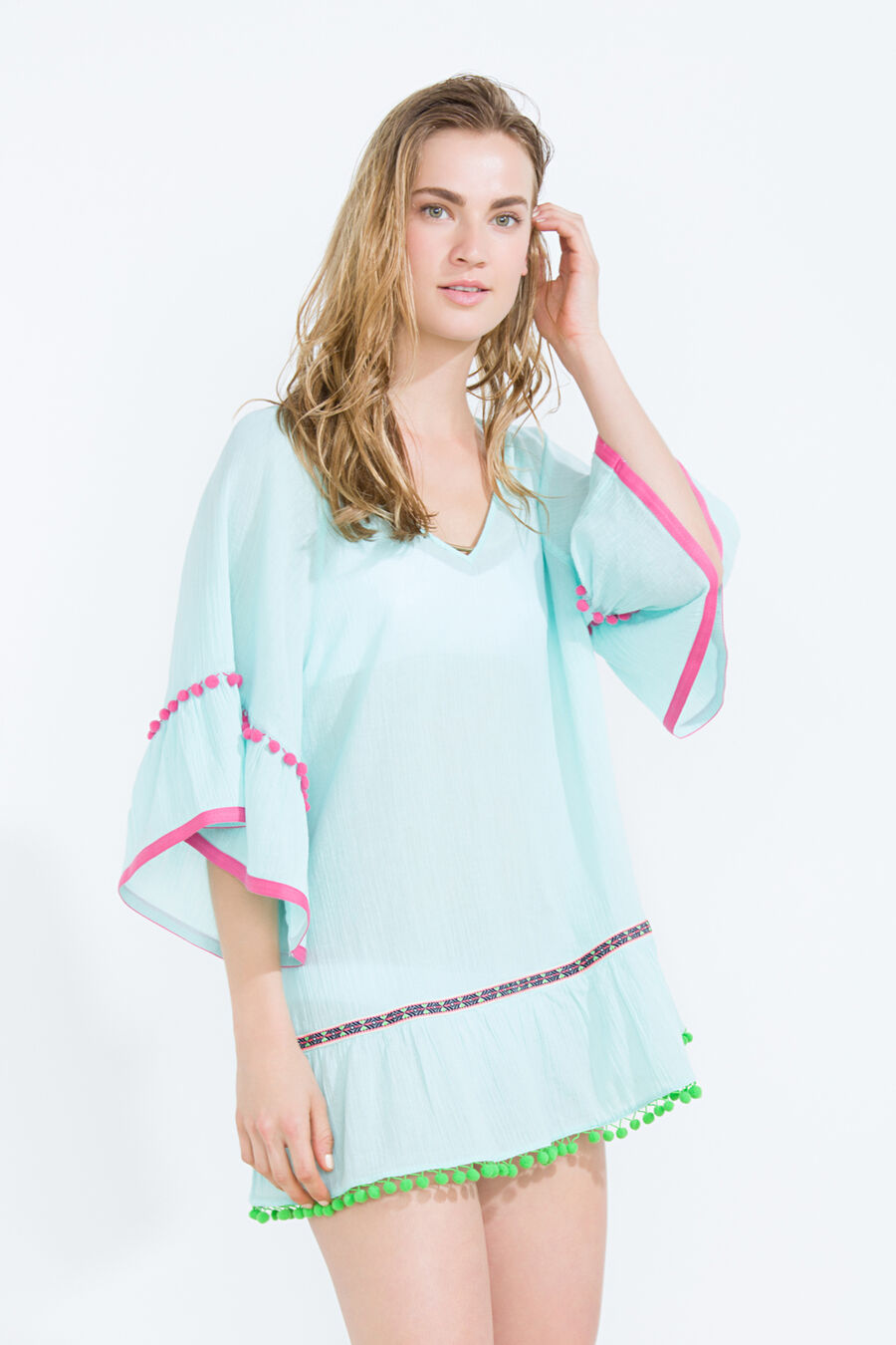 Pompom tunic
