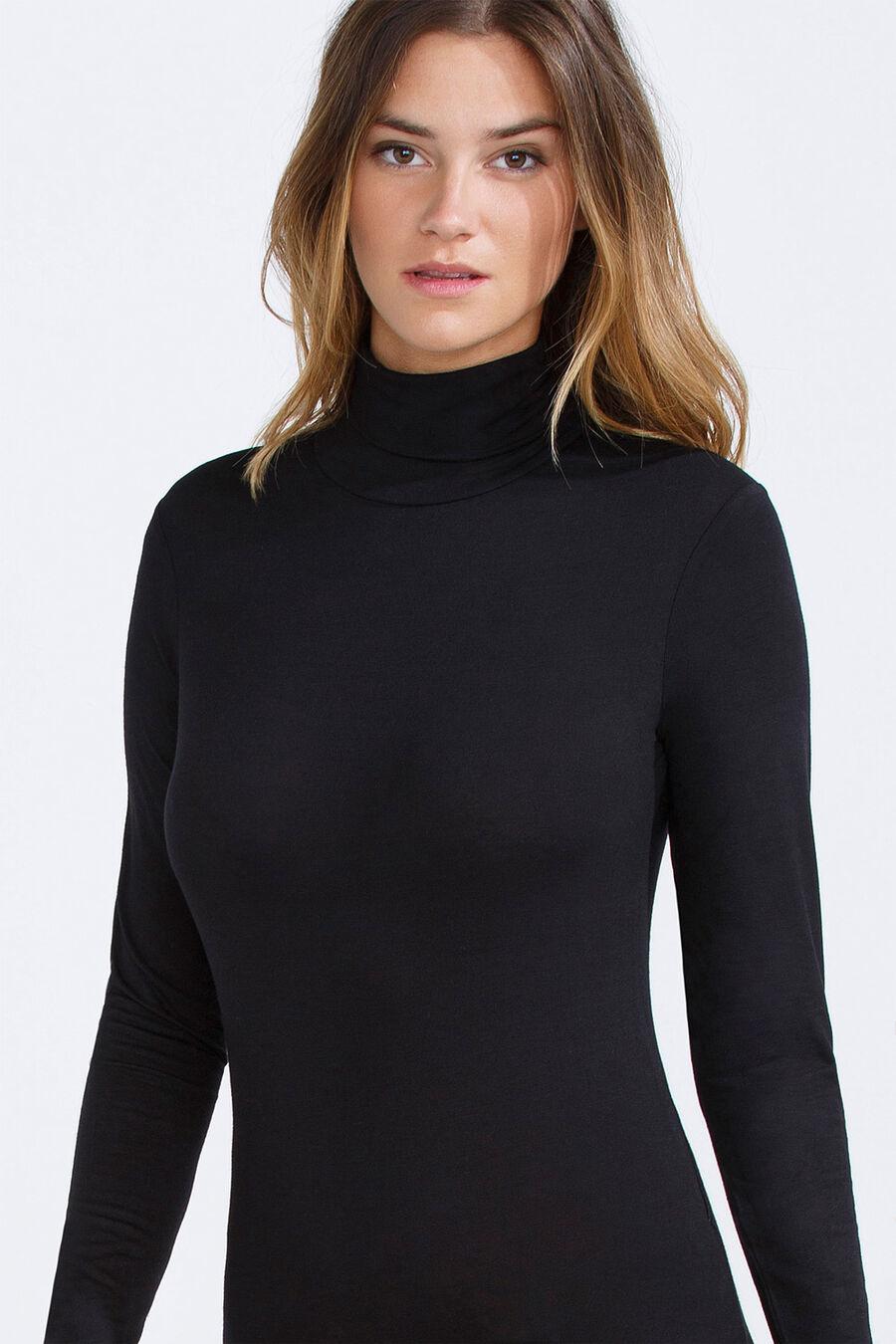 Spandex long-sleeve bodysuit