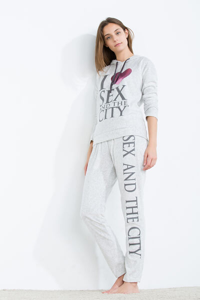 Long hooded thermal Sex and the City pyjama