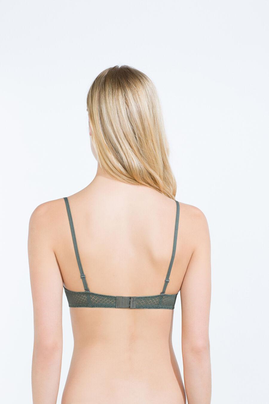 Miniflower classic padded bra