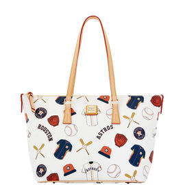 Astros Zip Top Shopper