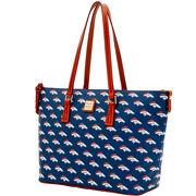 Broncos Zip Top Shopper
