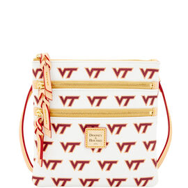 Virginia Tech Triple Zip Crossbody