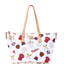 Phillies Zip Top Shopper
