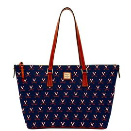 Virginia Zip Top Shopper