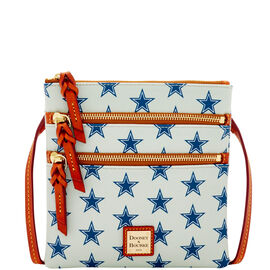 Cowboys Triple Zip Crossbody