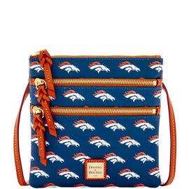 Broncos Triple Zip Crossbody