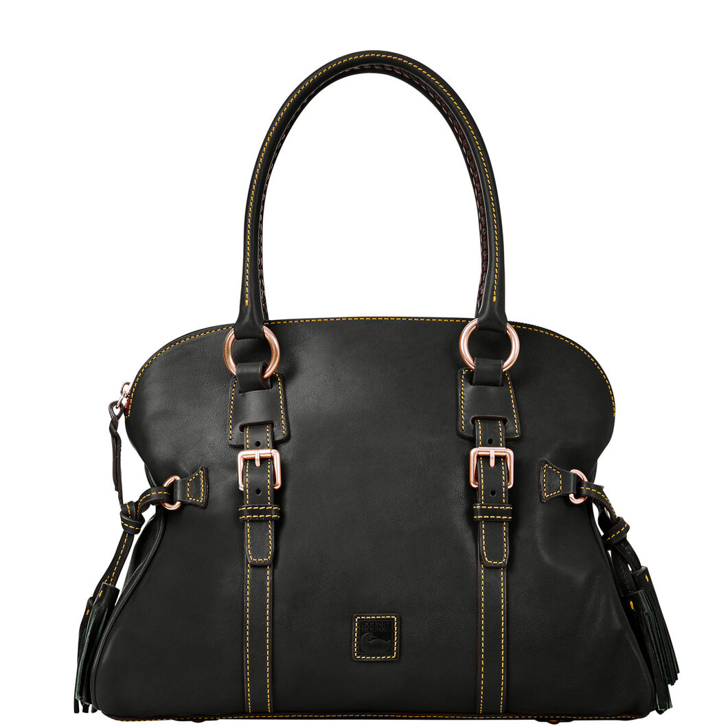 Domed Buckle Satchel