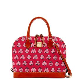 Ohio State Zip Zip Satchel