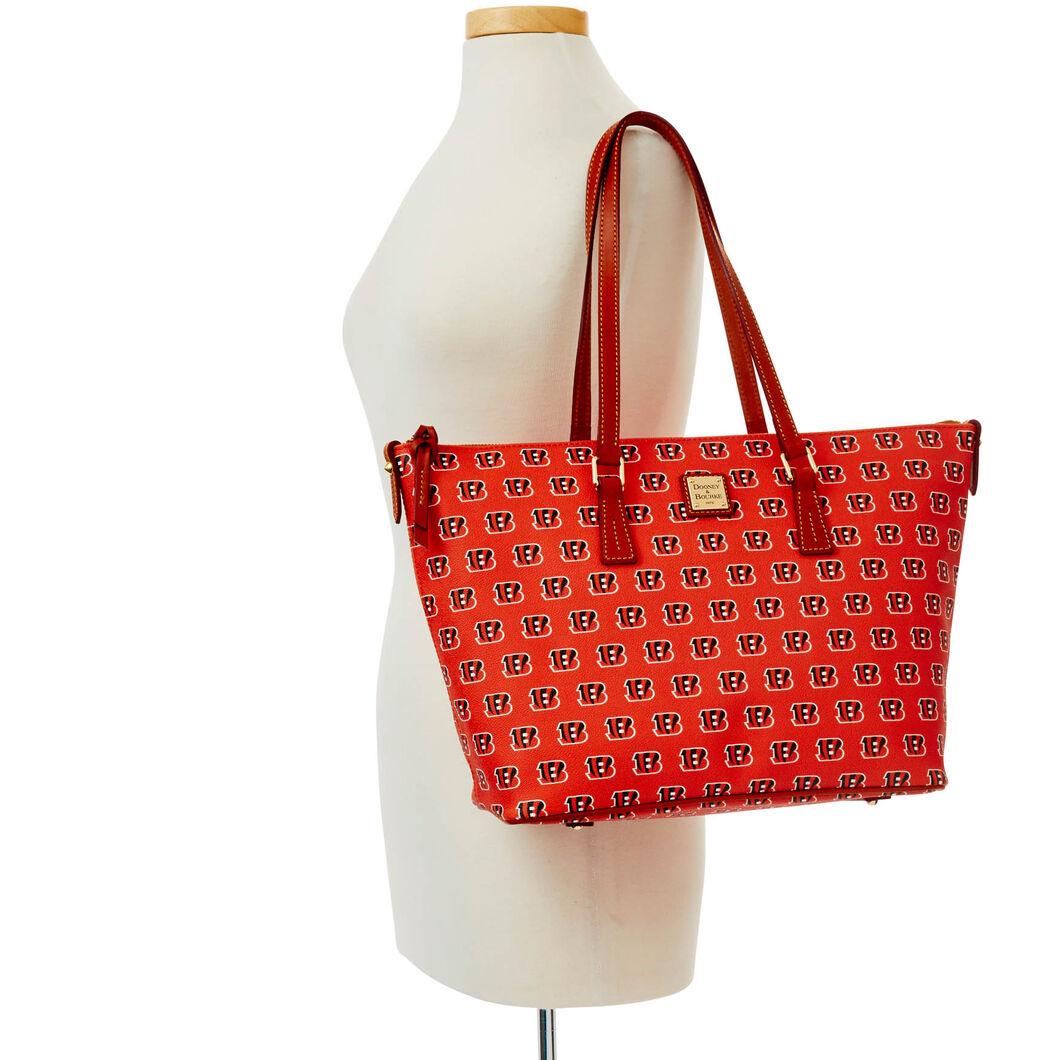 Bengals Zip Top Shopper