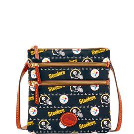 Steelers North South Triple Zip