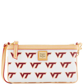 Virginia Tech Large Slim Wristlet