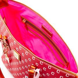 Indians Zip Top Shopper