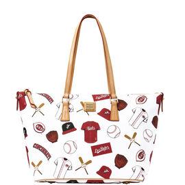 Reds Zip Top Shopper