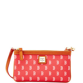 Red Sox Large Slim Wristlet