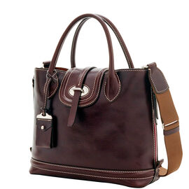 Side Zip Satchel