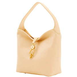 Small Logo Lock Shoulder Bag