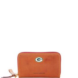 Packers Zip Around Phone Wristlet