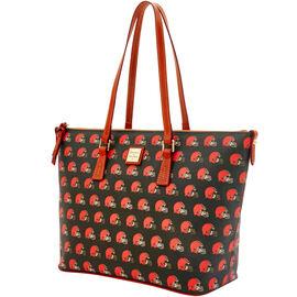 Browns Zip Top Shopper