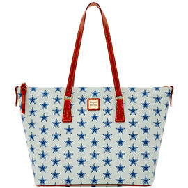 Cowboys Zip Top Shopper