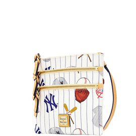 Yankees Triple Zip Crossbody