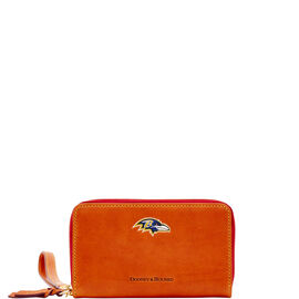 Ravens Zip Around Phone Wristlet