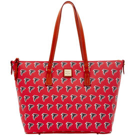 Falcons Zip Top Shopper