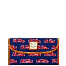 Ole Miss Continental Clutch