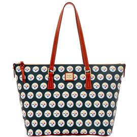 Steelers Zip Top Shopper