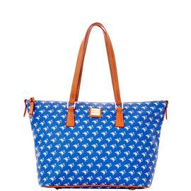 Bluejays Zip Top Shopper