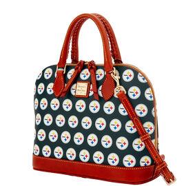 Steelers Zip Zip Satchel