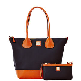 Tulip Shopper with Slim Wristlet