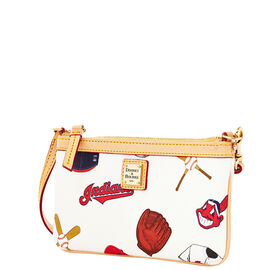 Indians Large Slim Wristlet