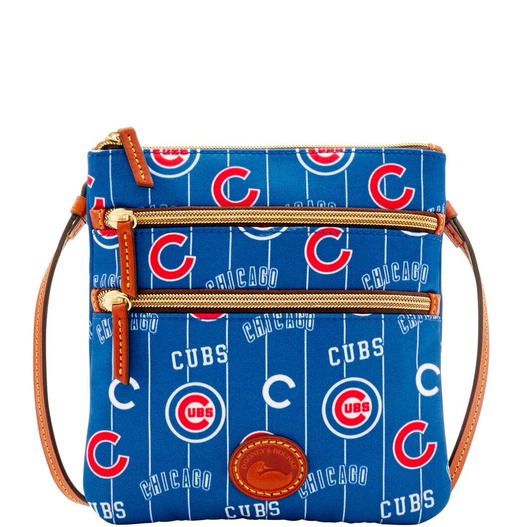 Cubs Triple Zip Crossbody
