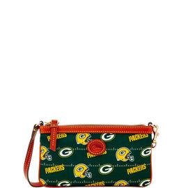 Packers Large Slim Wristlet