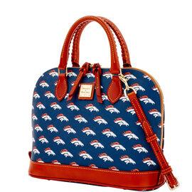 Broncos Zip Zip Satchel