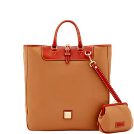 Editor'S Tote & Large Frame Purse